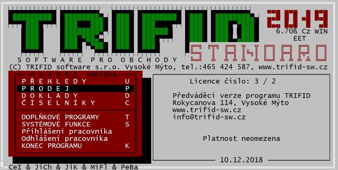 04b40576c TRIFID software Vysoké Mýto